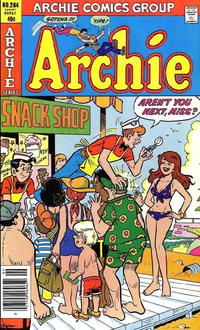 Cover Thumbnail for Archie (Archie, 1959 series) #284