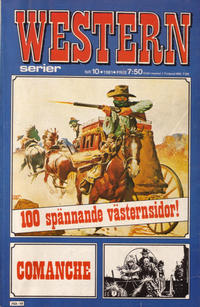 Cover for Westernserier (1976 series) #10/1981
