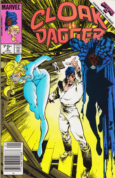 Cover for Cloak and Dagger (1985 series) #4 [Direct]