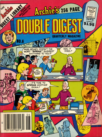 Cover for Archie's Double Digest Quarterly Magazine (1982 series) #6