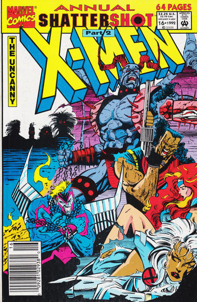 Cover for The Uncanny X-Men Annual (Marvel, 1992 series) #16 [Direct Edition]