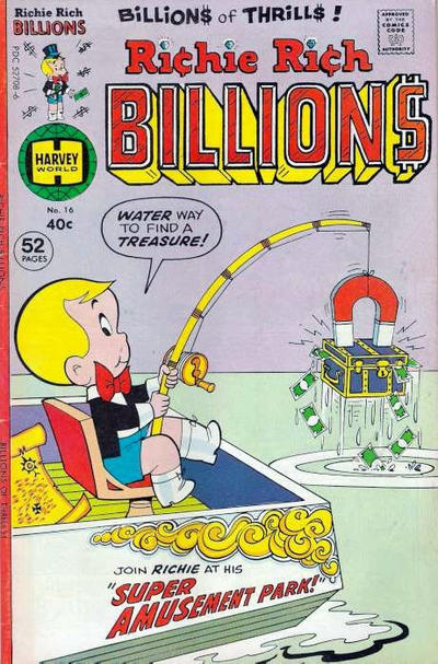Cover for Richie Rich Billions (Harvey, 1974 series) #16