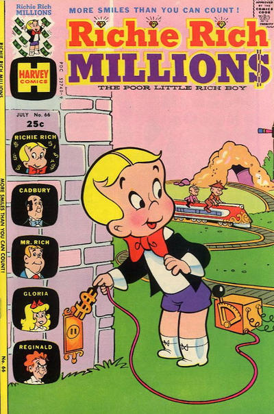 Cover for Richie Rich Millions (Harvey, 1961 series) #66