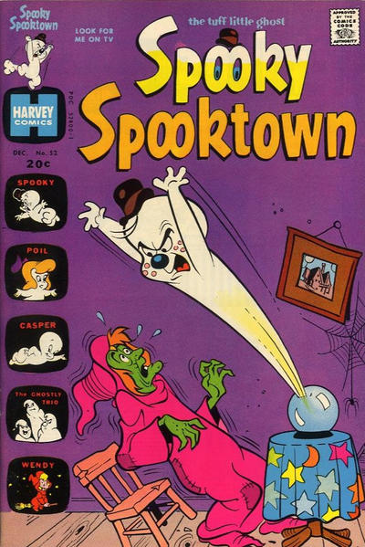 Cover for Spooky Spooktown (Harvey, 1961 series) #52