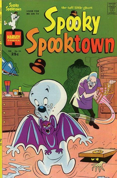 Cover for Spooky Spooktown (Harvey, 1961 series) #55
