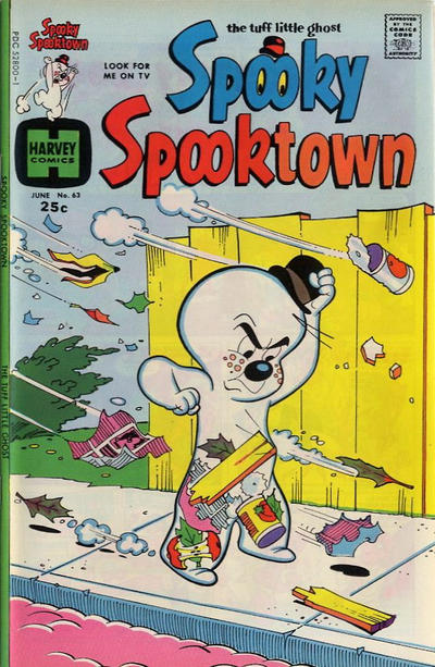 Cover for Spooky Spooktown (Harvey, 1961 series) #63