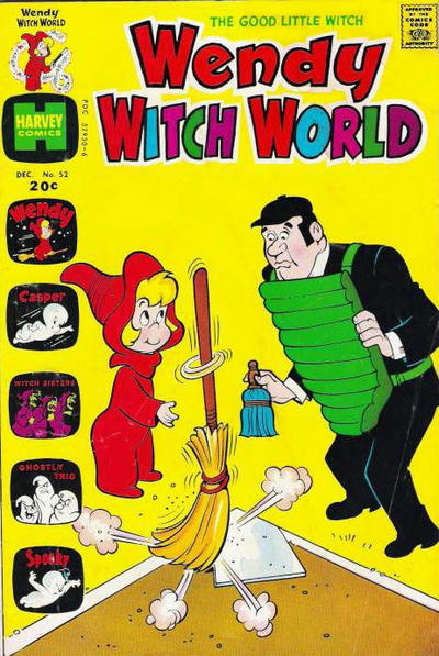 Cover for Wendy Witch World (Harvey, 1961 series) #52