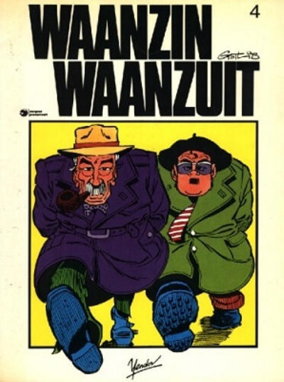 Cover for Waanzin waanzuit (1984 series) #4