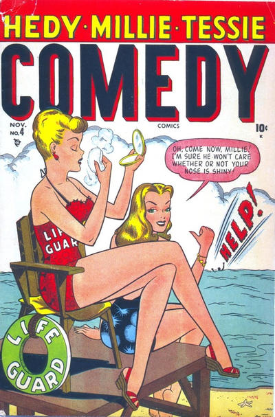 Cover for Comedy Comics (Marvel, 1948 series) #4