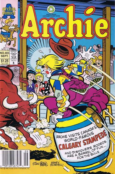 Cover for Archie (Archie, 1959 series) #403