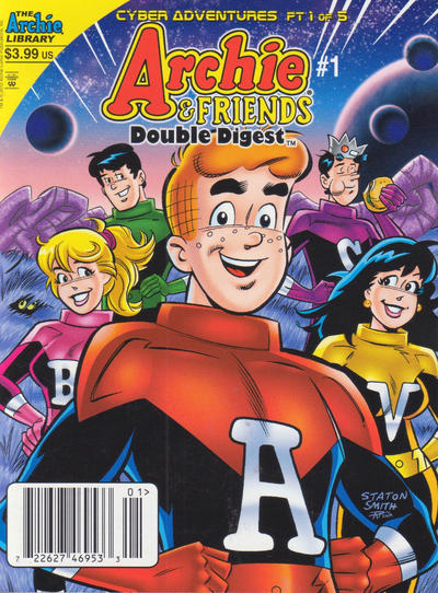 Cover for Archie & Friends Double Digest Magazine (Archie, 2011 series) #1 [Direct]