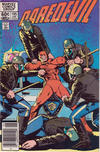 Cover for Daredevil (Marvel, 1964 series) #195 [Newsstand Edition]