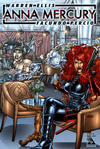 Cover for Anna Mercury (Avatar Press, 2008 series) #3 [Auxiliary]