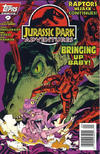Cover for Jurassic Park Adventures (Topps, 1994 series) #9