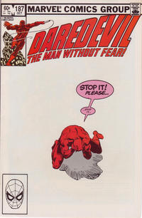 Cover Thumbnail for Daredevil (Marvel, 1964 series) #187 [Direct Edition]