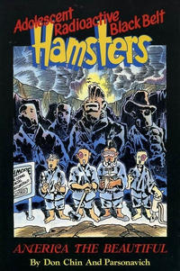 Cover Thumbnail for Adolescent Radioactive Black Belt Hamsters - America the Beautiful (Eclipse, 1990 series)