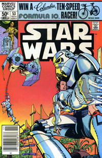 Cover Thumbnail for Star Wars (Marvel, 1977 series) #53 [Newsstand Edition]
