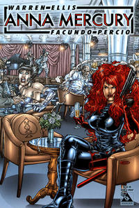 Cover Thumbnail for Anna Mercury (Avatar Press, 2008 series) #3 [Wraparound Juan Jose Ryp]