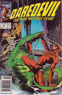 Cover Thumbnail for Daredevil (Marvel, 1964 series) #247 [Newsstand Edition]