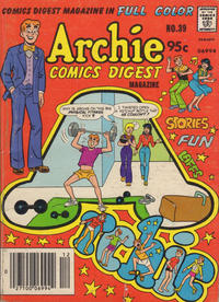 Cover Thumbnail for Archie Comics Digest (Archie, 1973 series) #39 [Canadian Newsstand]