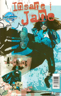 Cover Thumbnail for Insane Jane: The Avenging Star (Bluewater Productions, 2010 series) #2