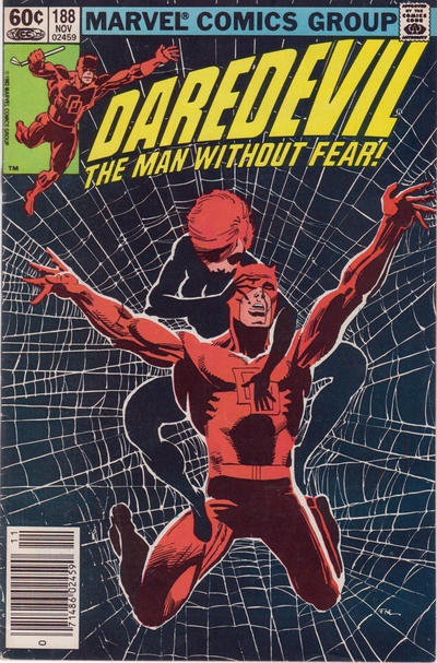 Cover for Daredevil (1964 series) #188 [direct edition]