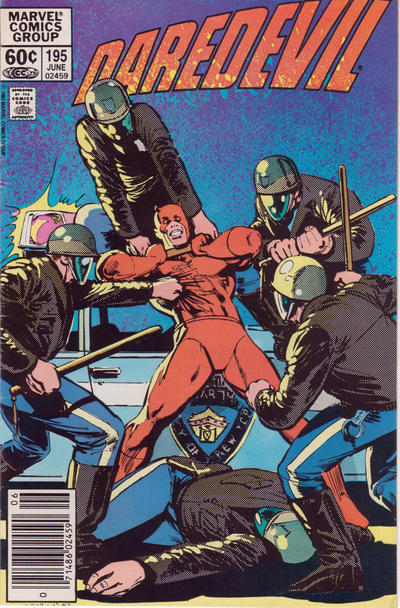 Cover for Daredevil (1964 series) #195 [Direct Edition]