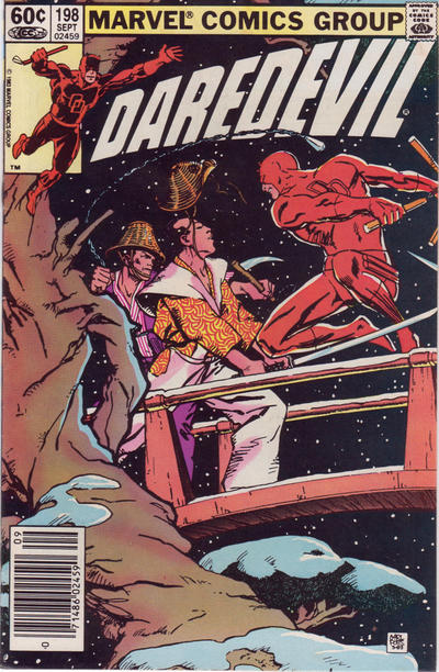 Cover for Daredevil (1964 series) #198 [Newsstand Edition]