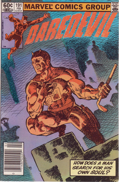 Cover for Daredevil (1964 series) #191 [direct edition]