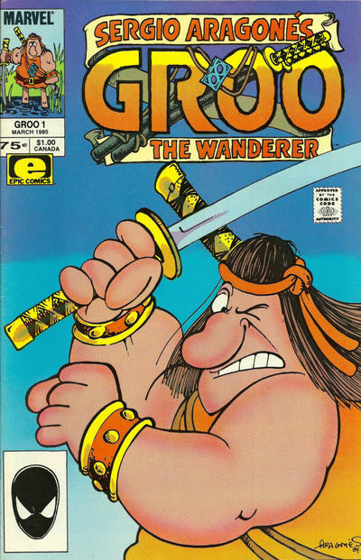 Cover for Sergio Aragonés Groo the Wanderer (Marvel, 1985 series) #1 [Direct Edition]