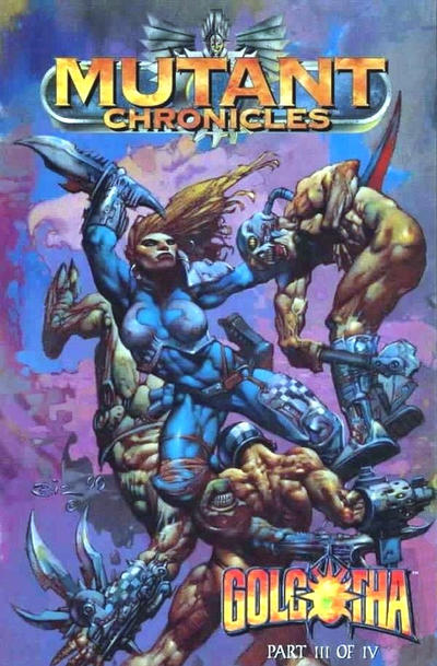 Cover for Mutant Chronicles: Golgotha (1996 series) #3
