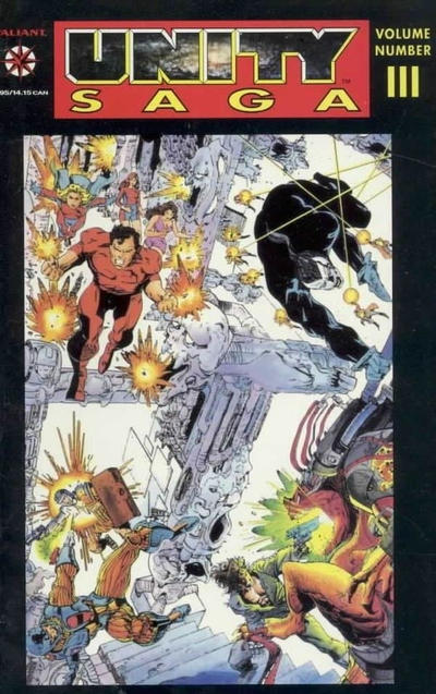 Cover for Unity Saga (Acclaim / Valiant, 1994 series) #3