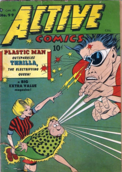 Cover for Active Comics (Bell Features, 1942 series) #99