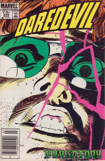 Cover for Daredevil (1964 series) #228 [Newsstand]
