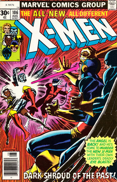 Cover for The X-Men (Marvel, 1963 series) #106 [30 cent cover]