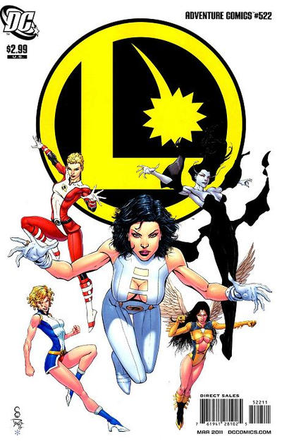 Cover for Adventure Comics (DC, 2009 series) #522