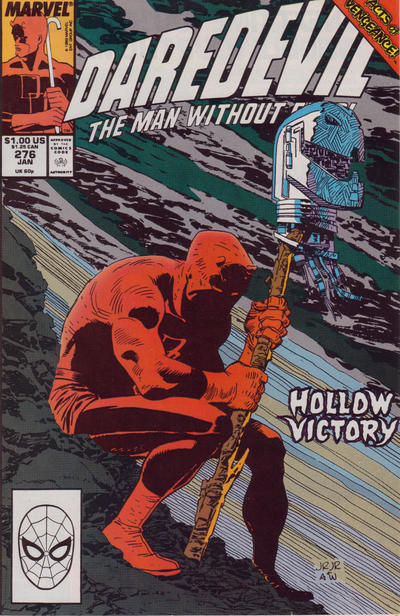Cover for Daredevil (1964 series) #276 [Direct Edition]