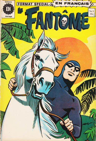 Cover for Le Fantôme (Editions Héritage, 1975 series) #3