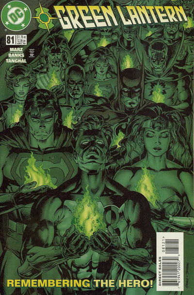 Cover for Green Lantern (DC, 1990 series) #81 [Standard Cover]