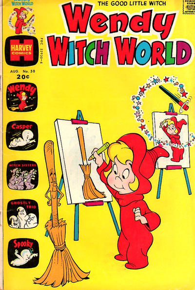Cover for Wendy Witch World (Harvey, 1961 series) #50