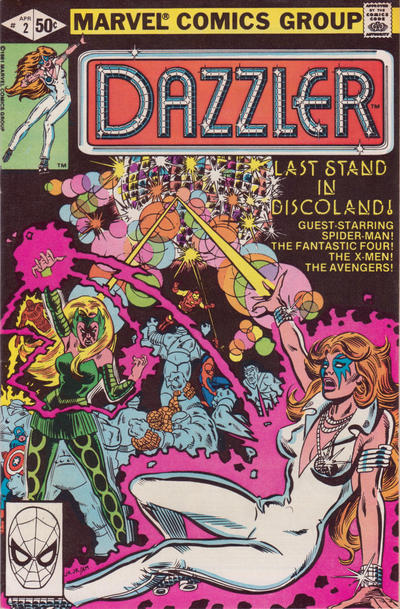 Cover for Dazzler (Marvel, 1981 series) #2 [direct edition]