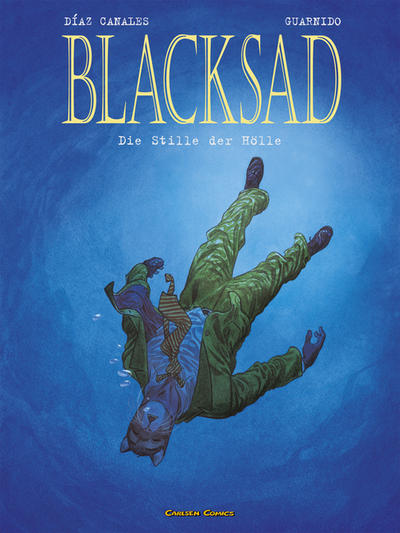 Cover for Blacksad (Carlsen Comics [DE], 2001 series) #4 - Die Stille der Hölle