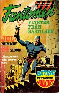 Cover for Fantomen (Semic, 1963 series) #25/1978