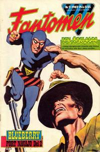 Cover for Fantomen (1963 series) #2/1982