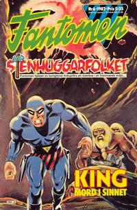 Cover Thumbnail for Fantomen (Semic, 1963 series) #6/1982
