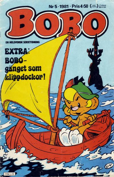 Cover for Bobo (Semic, 1978 series) #5/1981