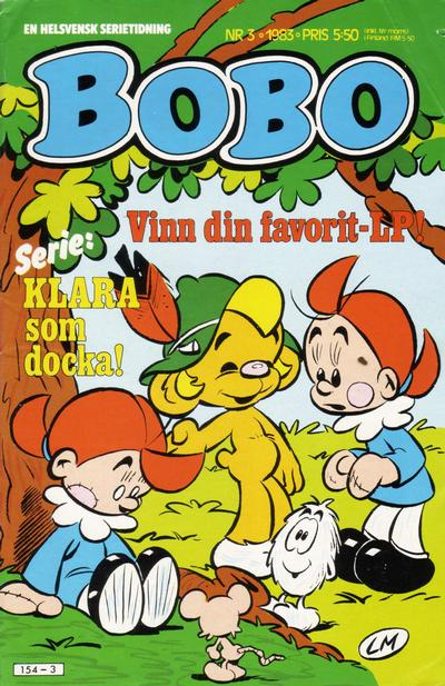 Cover for Bobo (Semic, 1978 series) #3/1983