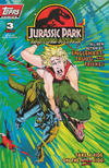 Cover for Jurassic Park: Raptors Attack (Topps, 1994 series) #3