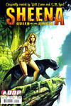 Cover for Sheena: Queen of the Jungle (Devil's Due Publishing, 2007 series) #2 [Cover A Mike Huddleston]