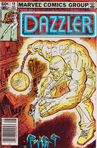 Cover Thumbnail for Dazzler (Marvel, 1981 series) #18 [Newsstand Edition]